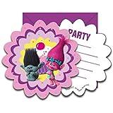 Trolls Party Invitations