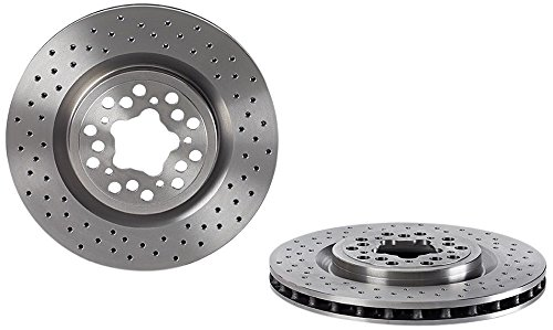 Brembo 09.7267.50 Front/Rear Brake Disc - Single Piece