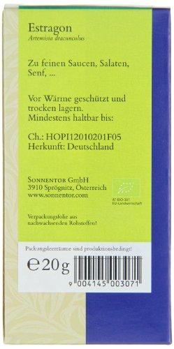 Sonnentor Estragon, 1er Pack (1 x 20 g) - Bio