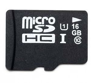 16GB generic MicroSDHC Memory Card Class 10 UHS-I Micro die von Samsung hergestellt mit SD Adapter