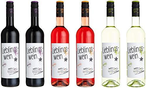 Lieblingswein dreifach sortiertes Paket (6 x 0.75 l) -