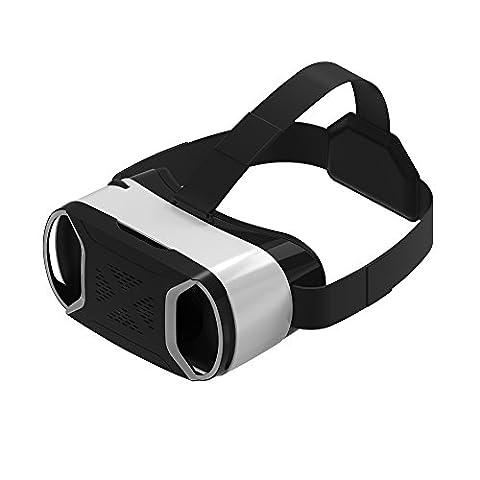 VersionTech 4. Gen Virtual Reality VR Headset Goggles Box 3D Movie Brillen für Samsung Galaxy S7 Rand / S7 / Note 4 iPhone 7 Plus / 7/6 Plus / 6 / 6S und andere Smartphone mit 4,5 bis 6,0-Zoll-Display