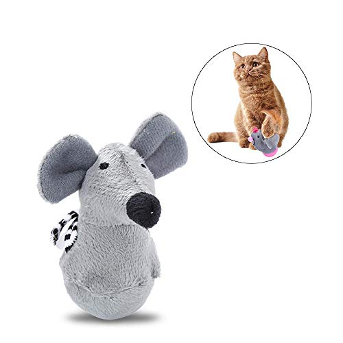 AUOKER Interaktives Spielzeug für Katzen, Hühner, Spielzeug mit Schüttelnfunktion, verbessert IQ und Widerstand gegen Depression für Haustiere, Hunde, Welpen, Kitty Depression Tumbler