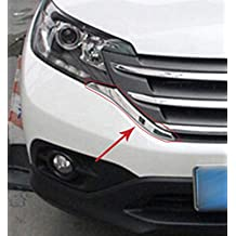 Rejilla del lado de la parrilla del lado frontal del automóvil Insertar para Honda CRV CR