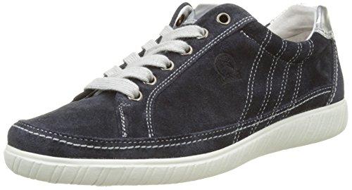 Gabor Shoes Comfort, Scarpe da Ginnastica Basse Donna Blu (ocean/argento 36)