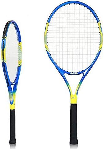C.N. Le principianti della racchetta da tennis tennis tennis si allenano con le competizioni professionali di carbonio per uomini e donne,Giallo blu,1   Alta sicurezza    Tocco confortevole  2c5039