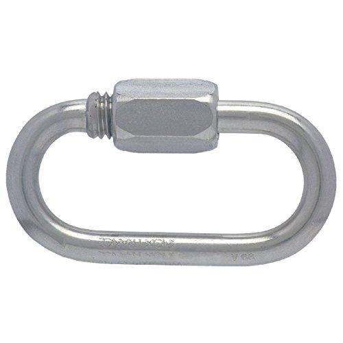 Maillon rapide® série normale inox Peguet - Diamètre 3 mm - Charge utile 800 kg - Vendu par 1
