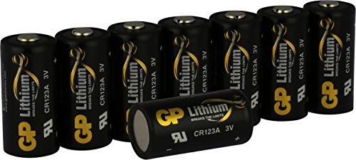 Batterien Lithium 3v CR123A / CR 123 (CR17345 , 5018LC) 3 Volt für Digitalkameras, Camcorder,...