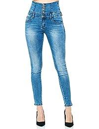 Elara Pantalón Elástico de Mujer Skinny Jegging Chunkyrayan