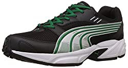 Puma Mens Pluto DP Black-Amazon-Silver Running Shoes - 6 UK/India (39 EU)