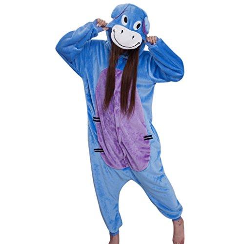 me Tierkostüme Erwachsene Pyjamas Kostüm Pyjamas Donkey Größe M (Billig Frauen Kostüme)