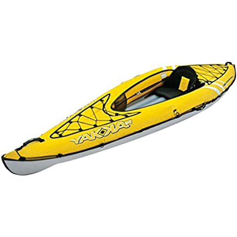 Bic Yakkair Lite 1 - Kayak hinchable, color amarillo, 3.30 m