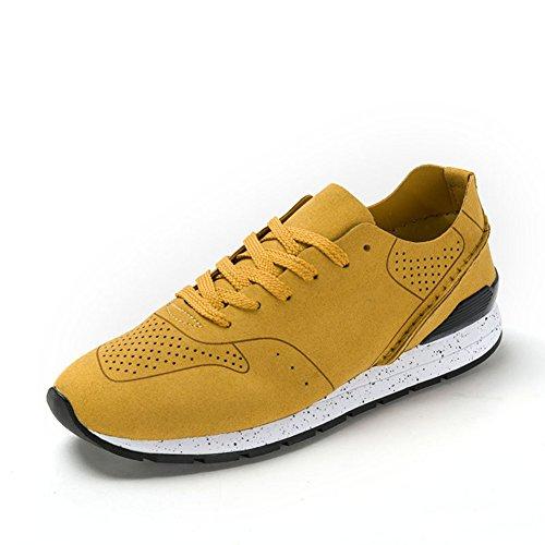 Primavera maglia traspirante scarpa/Con sport outdoor e tempo libero scarpe Giallo