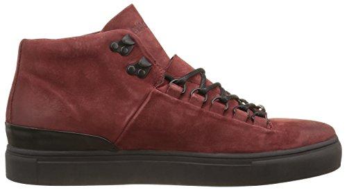 Blackstone Mm32, Baskets Basses Homme Rouge (port)