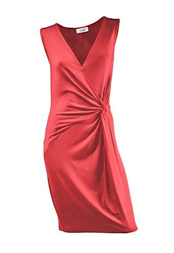 Heine - Robe - Opaque - Femme Rouge Rouge Rouge - Orangerot