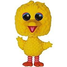 Funko 7133–Sesame Street, Pop Vinyl Figure 10Big Bird Oversized Flocked