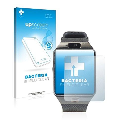 upscreen Bacteria Shield Clear Bildschirmschutz Schutzfolie für Simvalley Mobile PX-4057 (antibakterieller Schutz, hochtransparent)