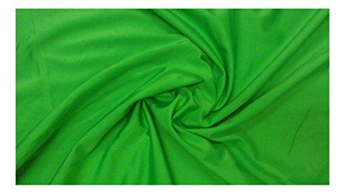 Fabrics-City GIFTGRÜN HOCHELASTISCH LYCRA STOFF BADEANZUGSTOFF STOFFE, 2848