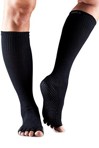 1-Paire-Scrunch-moiti-Toe-coton-biologique-genou-de-ToeSox-femmes-Chaussettes