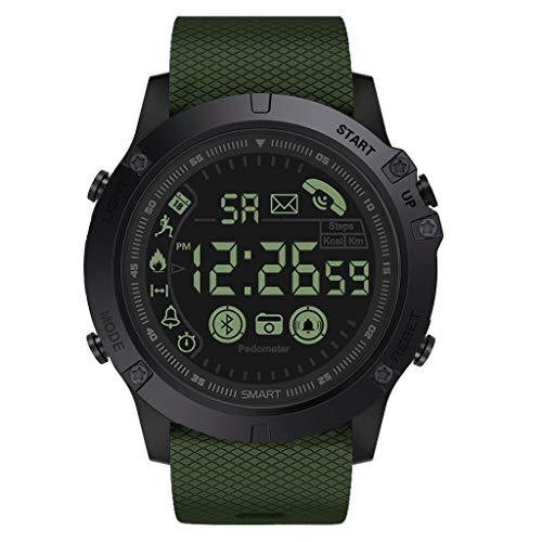 friendGG Herren Rugged Smartwatch, Flaggschiff, 33-Monatige Standby-Zeit, 24 Stunden AllwetterüBerwachung Neu Damen Uhr Uhren Watch Casual üBerwachung Analoge Uhrenarmband Armbanduhren