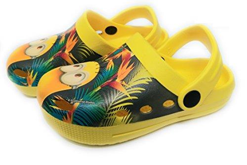 Takestop ciabatte crocs pantofole mare gomma antiscivolo minions
