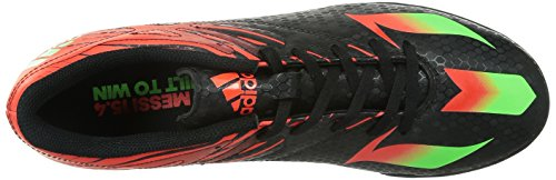 adidas Messi 15.4 Tf, Chaussures de Football Entrainement homme Nero (Negbas/Versol/Rojsol)