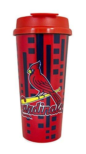 St. Louis Cardinals Trinkglas, doppelwandig, 473 ml