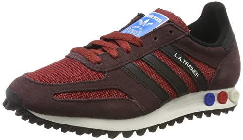 adidas la Trainer OG, Chaussures de Fitness Homme, Multicolore-Rouge/Noir (Rojmis/Negbas/Marnoc), 36 EU