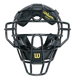 Wilson Dyna-Lite Umpire and Catcher's Face Mask by Wilson -