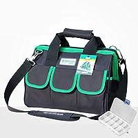 SryWj Appliance Repair Kit Elektriker-Tasche Tragbare Werkzeugtasche Canvas Large Multi-Funktions-One-Shoulder-Verdickung Wasserdicht, Anti-Wear, Anti-Scratch, Dick Und Fest