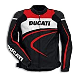 Ducati %SALE 9810284 Herren Corse Lederjacke Motorrad Racing SPORT C2 schwarz 54