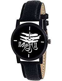 Scarter Mahadev Black Dial Analog Watch For Boys And Men-MH-Black-3