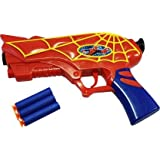 jmv Marvel Superhero Spider Man Gun Toy for Kids with 3 Soft Bullet