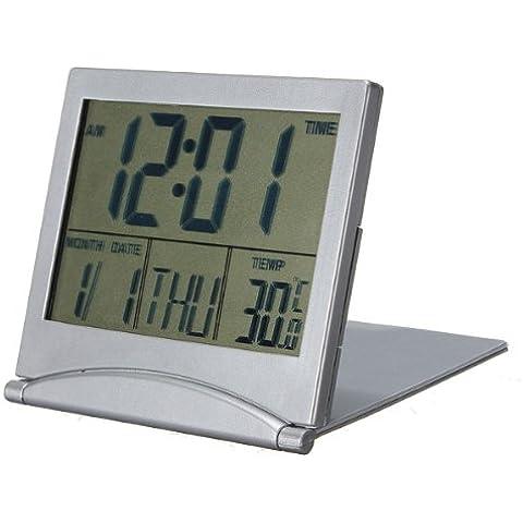 orologio da tavolo data del calendario sveglia digitale centigradi fahrenheit