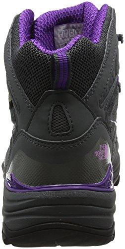 The North Face Hedgehog Fastpack Mid Gore-Tex (EU), Stivali da Escursionismo Alti Donna Grigio (Dark Shadow Grey/violet Tulle)