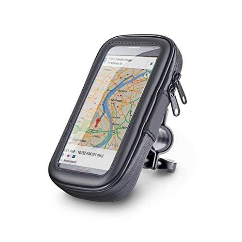 Bike phone holder impermeabile 360° supporto bicicletta mobile borsa per 15,2cm smartphone iphone 6plus 6s 7s plus sony xperia z3z4z5plus 3zte samsung galaxy s4s5s6s7s8plus lg g5g6g4l 160x 82mm