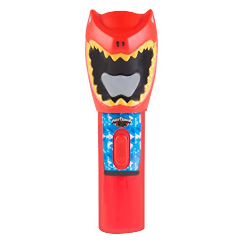 Image of Kids Super Bright LED Torch / Flashlight for Indoor or Outdoor Use Requires 2x AA Batteries (Not Included) (Power Rangers)