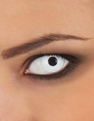Maskworld SMI416136(2) Kontaktlinsen/Tageslinsen, Unisex- Erwachsene, weiß