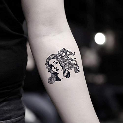 Venus etiqueta engomada falso temporal del tatuaje (Juego de 2) - www.ohmytat.com