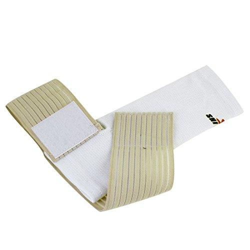 Weiß Beige Pullover Heel-Loch-elastisches Band-Knöchel Unterstützung Protector - Pullover Knöchel-unterstützung