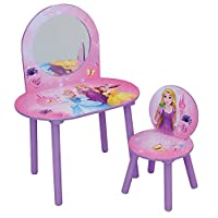 Fun House Disney Princess Dressing Table with Stool – MDF, 60 x 40 x 84 cm