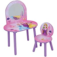 Preisvergleich für Unbekannt Fun House Disney Prinzessinnen Frisiertisch mit Stuhl für Kinder, MDF, 60x 40x 84cm