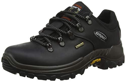 Grisport Dartmoor, Damen Trekking- & Wanderhalbschuhe, Schwarz (Schwarz), 39 EU / 6 UK