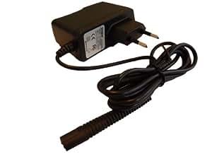 vhbw 220V Bloc d'alimentation chargeur (6V/0.6A) pour rasoir Braun Cruzer, Countour Pro comme 5683, 5685, 5690, 5751, 5752, 5753, 5755, 5756, 5757
