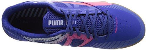 Puma evoSPEED Sala Synthétique Baskets Blue-Bright Plasma-Gray Dawn
