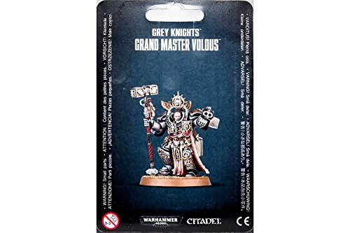 Warhammer GREY KNIGHTS GRAND MASTER VOLDUS 57-11 Grey Knight
