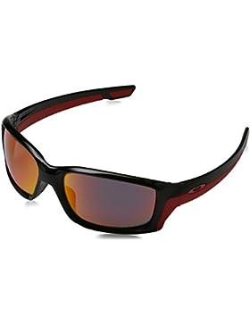 Oakley OO9331-08 Straightlink, Gafas de sol, Hombre, Negro (Polished Black), 58