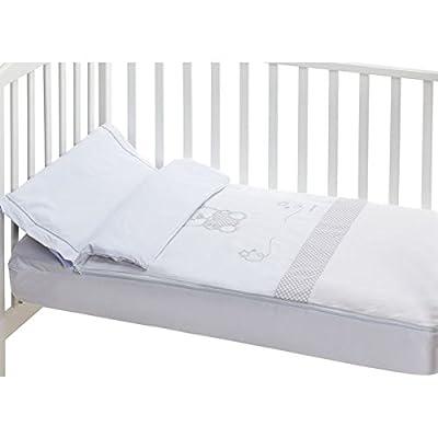 Saco nórdico desenfundable cuna (60x120 cm) CUORE Blanco