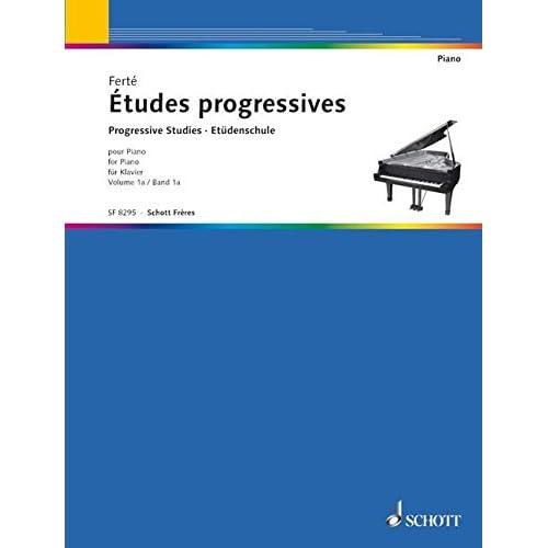 Etudes progressives pour piano