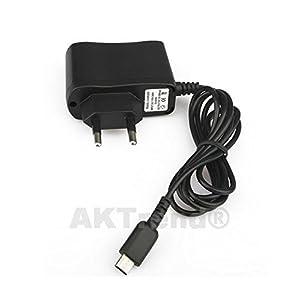 aktrend Original Netzteil/AC Adapter Passend für Nintendo DS Lite, Ladekabel Ladegerät, Power Supply Adapter Für Nintendo AK-Nlite06